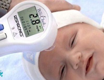 اندازه گیری زردی نوزاد